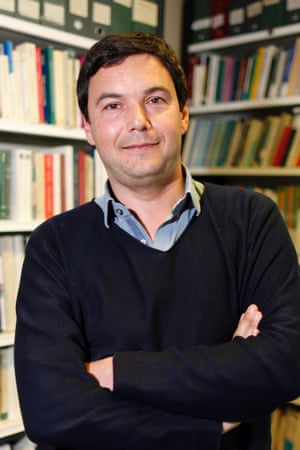 French economist and academic Thomas Piketty. Reuters