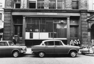 GNM Archive: The former Observer office at 22 Tudor Street.