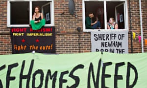 E15 Focus Mothers' protest
