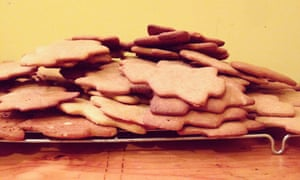 The biscuits, pre-icing