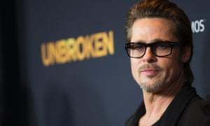 One not angry man …Brad Pitt at the premiere of Unbroken, 15 December.