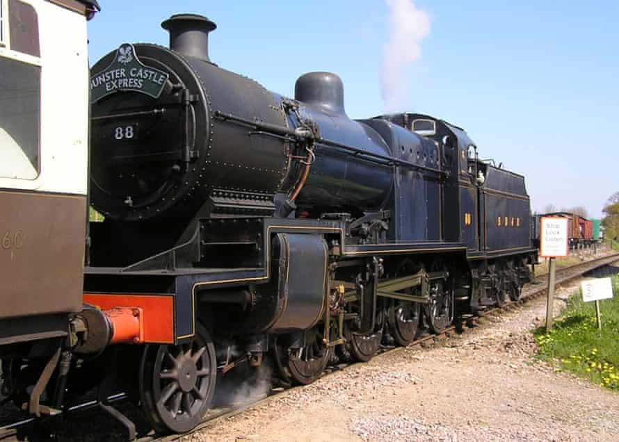 The West Somerset Railway is England's longest heritage track