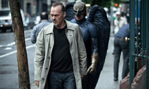 Michael Keaton as Riggan in Birdman.