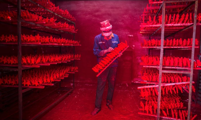 Image result for Santa's real workshop: the town in China that makes the world's Christmas decorations pictures images photos