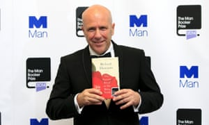 Richard Flanagan after winning the 2014 Man Booker prize.