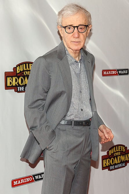 Did Woody Allen publish his first novel in 2014?