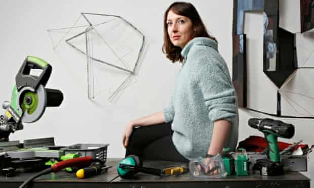 Sara Barker in her Glasgow studio. 'All I've ever wanted my work to do is reverberate with people.'