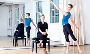 Comedian Jenny Bede and ballet dancer Luke Schaufuss.