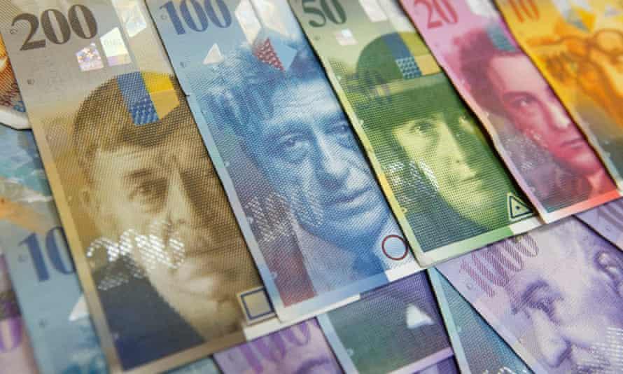Swiss National Bank wants to weaken the Swiss franc.