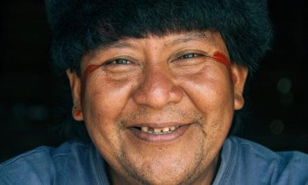 Davi Kopenawa, Yanomami leader and shaman