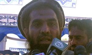 Zaki-ur-Rehman Lakhvi pictured in 2008, the year of the Mumbai terror attacks