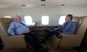 Clive Palmer with Andrew Crook