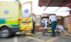 Hospitals are admitting record number of emergency patients