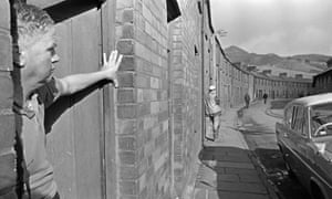 The Welsh mining village of Aberfan after the colliery disaster in 1966.