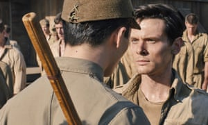 Still from the film Unbroken, directed by Angelina Jolie and starring Jack O'Connell.