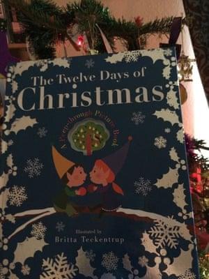 The Twelve Days of Christmas by Britta Teekentrup