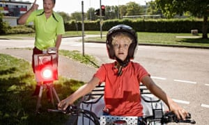 Boy on quad bike