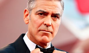 George Clooney in bow tie