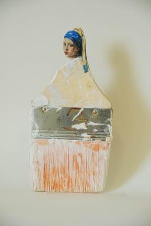 World is your Oyster Paintbrush portraits Rebecca Szeto