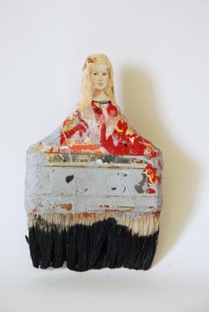 Rebecca Szeto Paintbrush Portraits MENINA IV