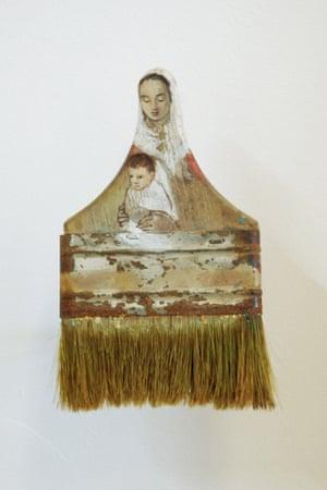 MADONNA & CHILD Paintbrush Portraits Rebecca Szeto