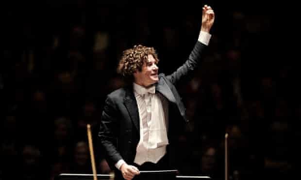 Robin Ticciati of the Scottish Chamber Orchestra.