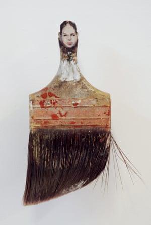 Rebecca Szeto  INNOCENCE Paintbrush Portraits