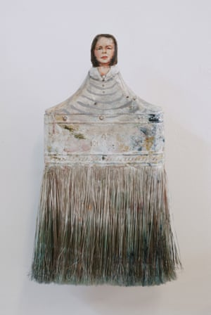 Rebecca Szeto Paintbrush Portraits  GRAND DAME