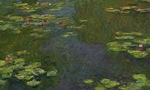 Mystical poetry … Claude Monet's Water Lily Pond (1919.