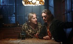 Owen Wilson and Joaquin Phoenix in Inherent Vice.