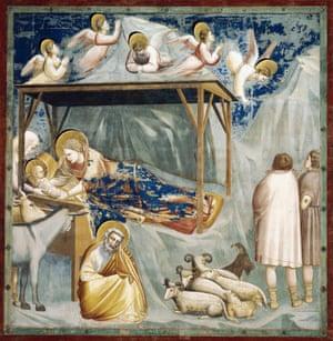 Nativity by Giotto