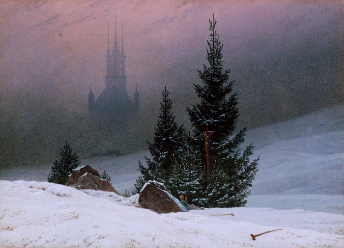 Winter Light by Caspar David Friedrich