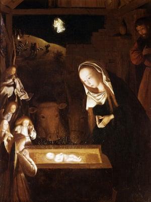Nativity at Night by Geertgen Tot Sint Jans Geertgen