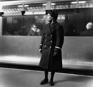 Earls Court underground station, circa 1960