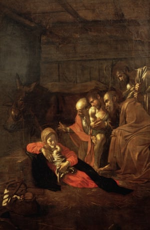 Adoration of the Shepherds, 1609, by Caravaggio