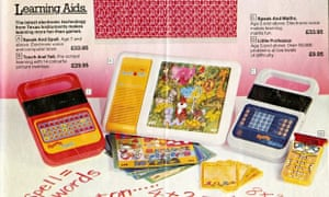 The 1982 Boots Christmas catalogue