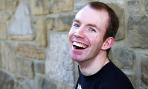BBC New Comedy award winner Lee Ridley, AKA Lost Voice Guy