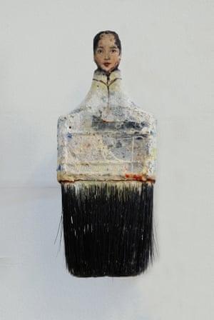 Rebecca Szeto Paintbrush Portraits Concubine