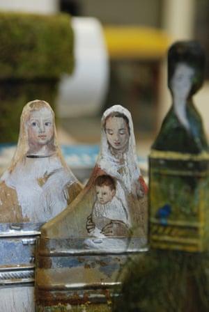 MOTHER & CHILD Rebecca Szeto Paintbrush Portraits