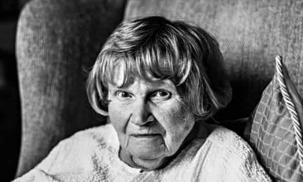 Jane Bown, photographed at her home in Hampshire on 23 July 2014.
