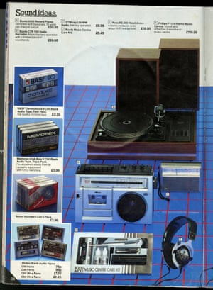 1982 Boots catalogue audio section