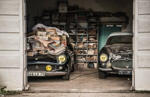 A 1961 Ferrari 250 GT SWB California Spider and a 1956 Maserati A6G Gran Sport Frua from the Baillon collection. This collection of 60 automobiles, assembled during the 1950s by French entrepreneur Roger Baillon, based in the west of France, will be on sale by Artcurial Motorcars as part of the traditional sale at Retromobile Salon in Pari