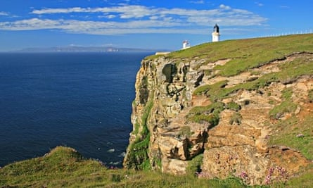 The coast of Caithness, Scotland, near where the tidal project will be based