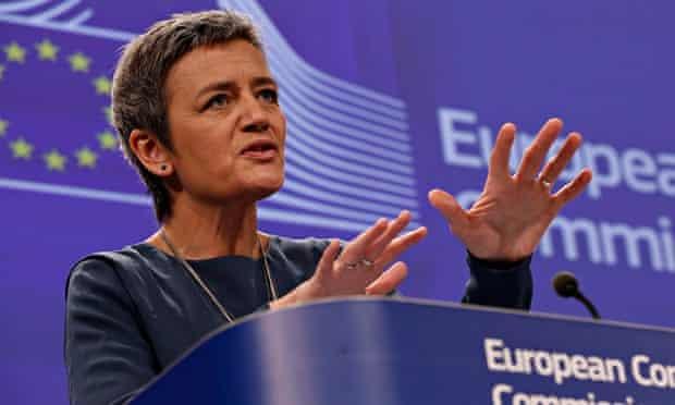 EU Commissioner for competition Margrethe Vestager