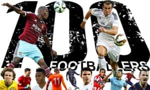 Guardian's world's top 100 footballers 2014