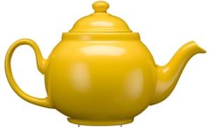 Tea is tops.