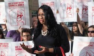 US transgender activist Monica Jones