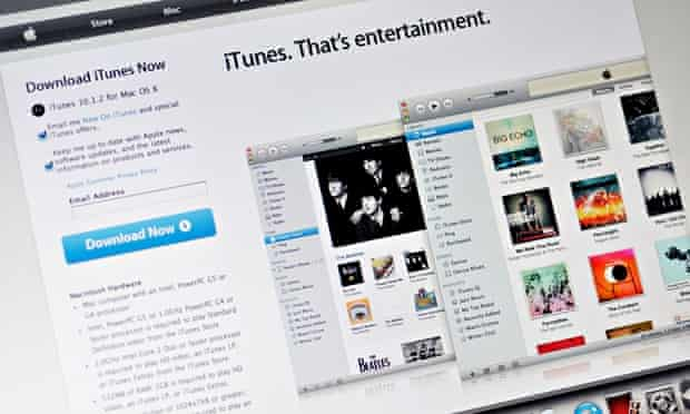Interview here ... the iTunes store