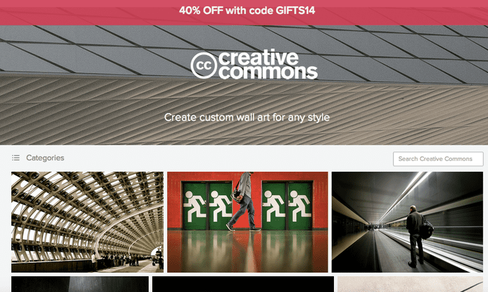 Flickr takes flak for selling Creative Commons photos as wall-art