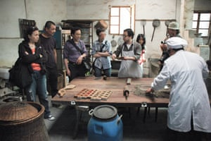 Chinese rural revival  - Ou Ning's Bishan project: Yuting Cake Making, Research on Handicraft, 2011.
